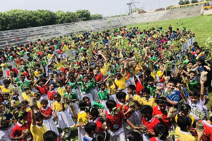 Sainik Public School-Plantation Event