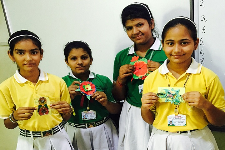 Sainik Public School-Rakhi Making Competition