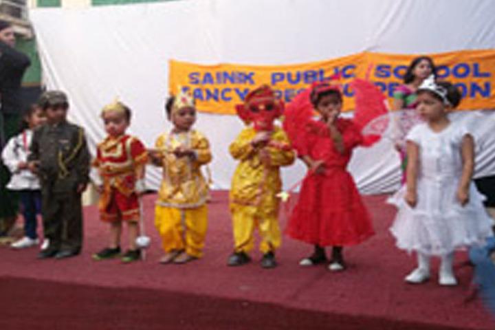 Sainik Public School-Fancy Dress Competition