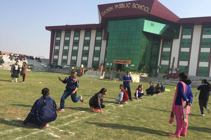 Sainik Public School-Sports