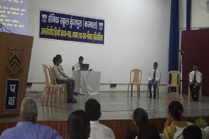 Sainik School-Hindi Debate Competition