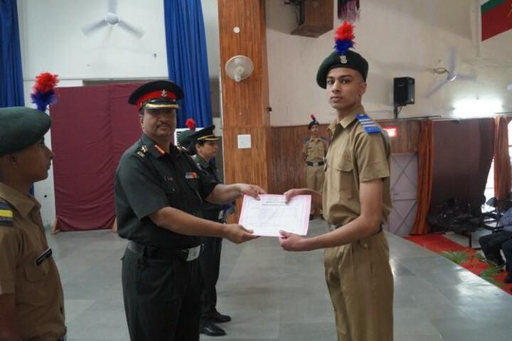 Sainik School-Investiture Ceremony
