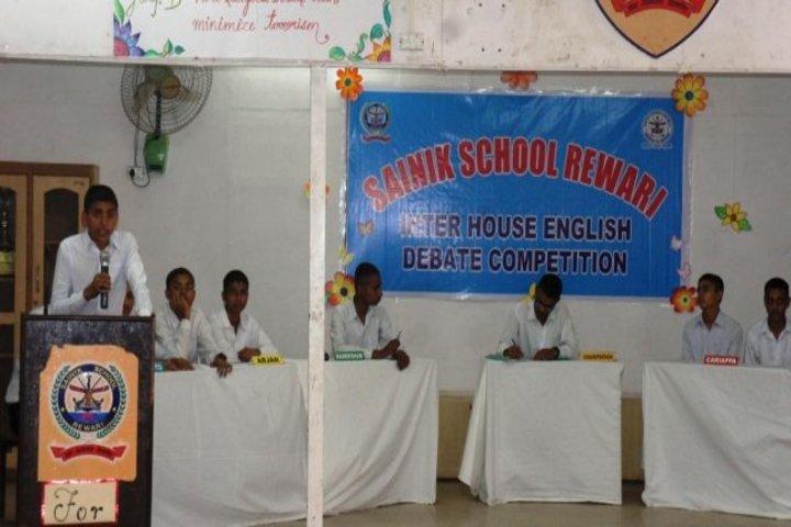Sainik School-Debate Competition