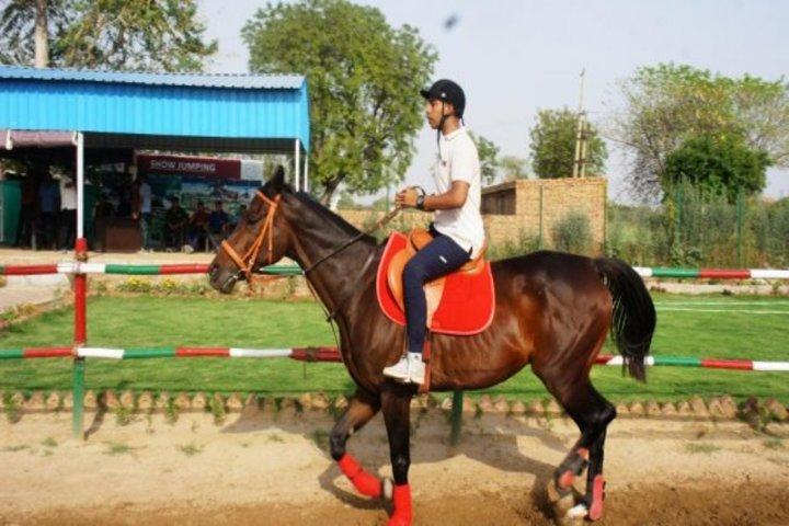 Sainik School-Horse Riding Activity