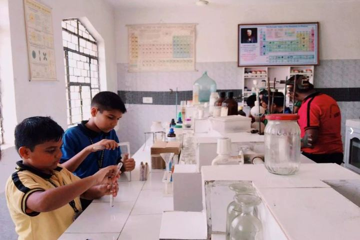 Saint Soldier M R Public School-Biology Lab