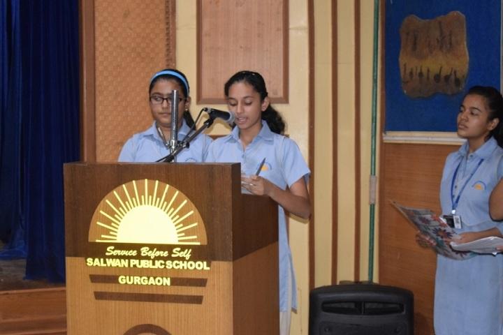 Salwan Public School-Investiture Ceremony