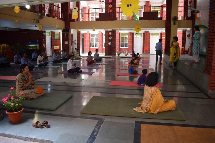 Salwan Public School-Yoga Day Celebrations