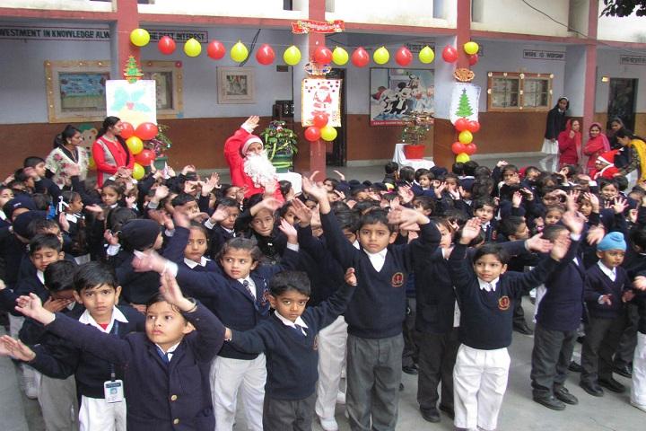 Sanjay Gandhi Memorial Public Senior Secondary School-Christmas Celebrations