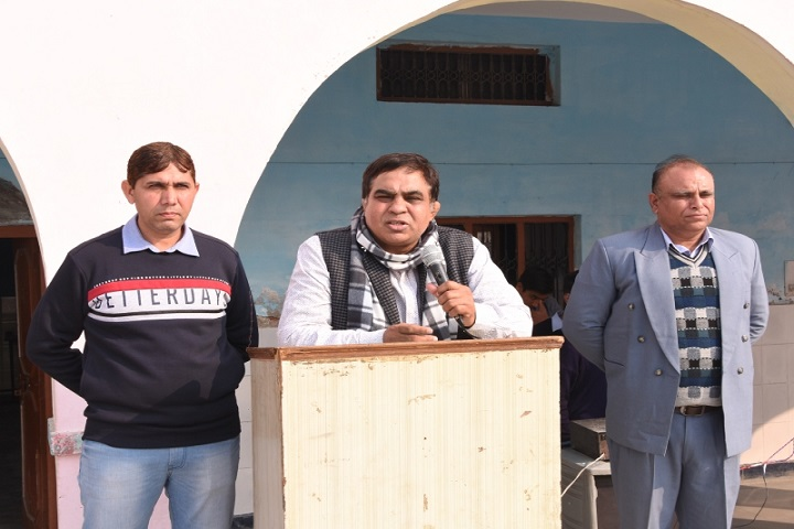Sanjay Kuldeep Senior Secondary School-Guest Speech