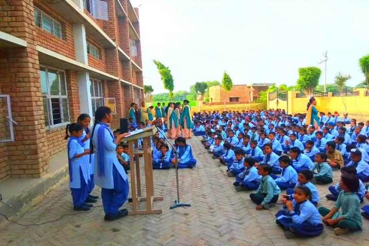 Sanskar Senior Secondary School-Assembly