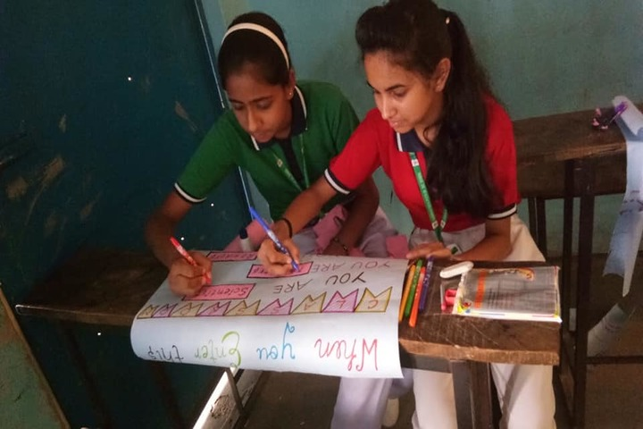 Sanskar Vidya Peeth Senior Secondary School-Drawing competition