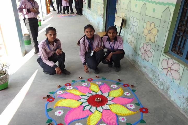 Sanskar Vidya Peeth Senior Secondary School-Rangoli Competition
