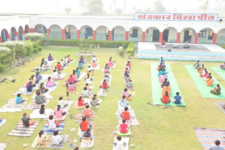 Sanskar Vidya Peeth Senior Secondary School-Yoga Day