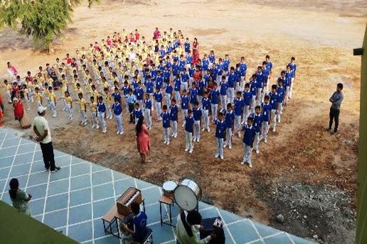 Sanskriti Convent School-Assembly