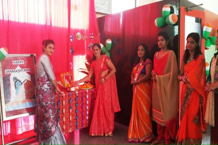 Sanskriti Convent School-Red Day