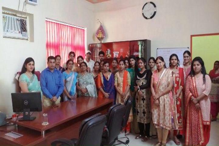Sanskriti Convent School-Teachers Meeting