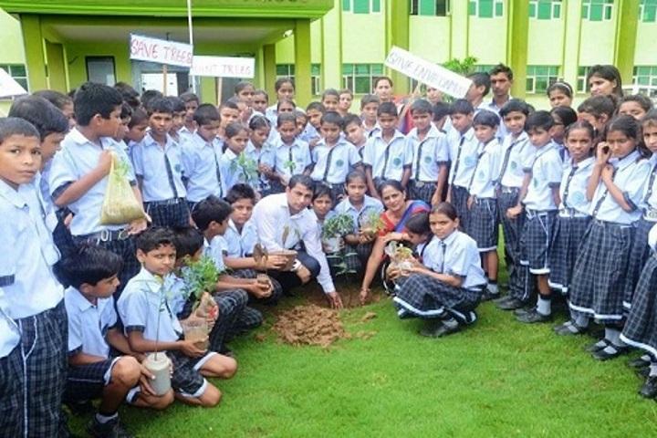 Sanskriti Convent School-Tree Plantation Day