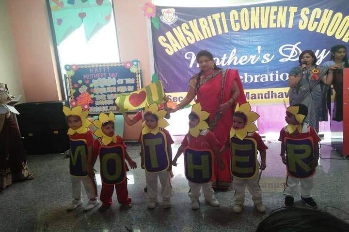 Sanskriti Convent School-Mothers Day