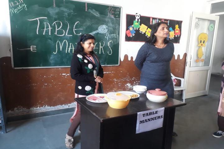 Sanskriti Public School-Classroom Activity