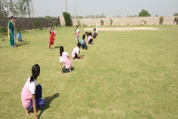 Sanskriti Public School-Playing Area