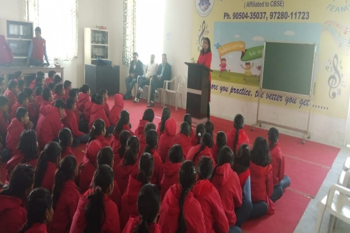 Sanskriti Public School-Red Day Celebrations