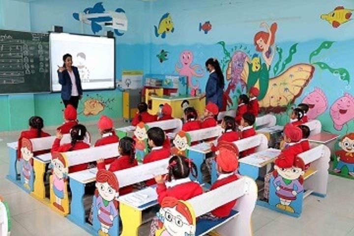 Sant Ishar Singh Academy-Classroom