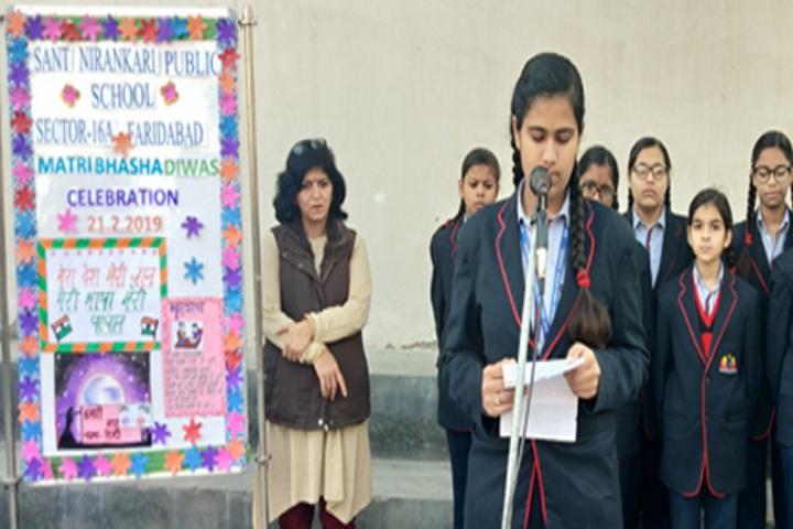 Sant Nirankari Public School-Matribhasha Diwas