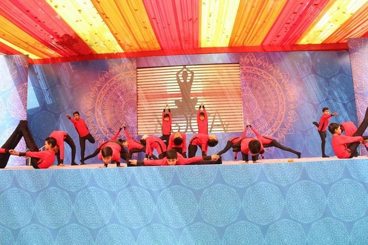 Sant Nirankari Public School-Yoga Activity
