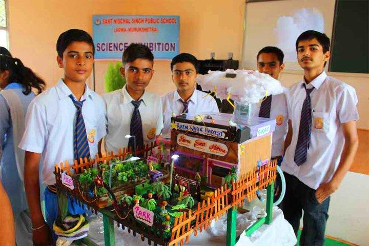 Sant Nischal Singh Public School-Science Exhibition