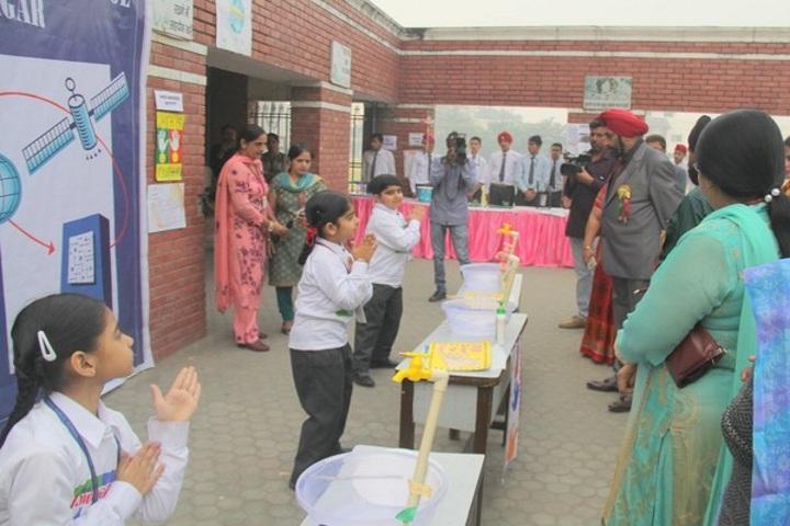 Sant Nischal Singh Public School-Science Exhibition 2017