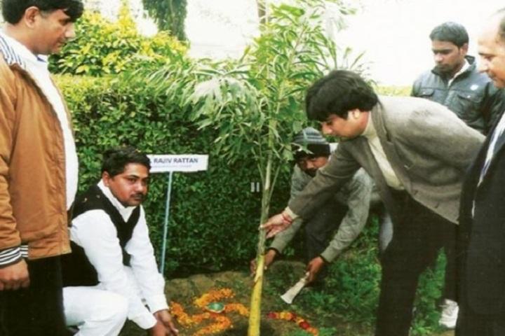 Saraswati Shiksha Sansthan High School-Tree Plantataion Day