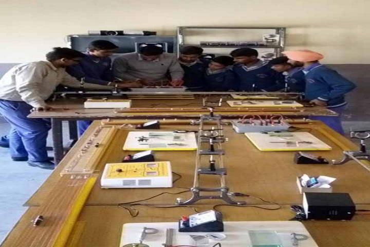 Saraswati Vidya Mandir High School-Physics Lab