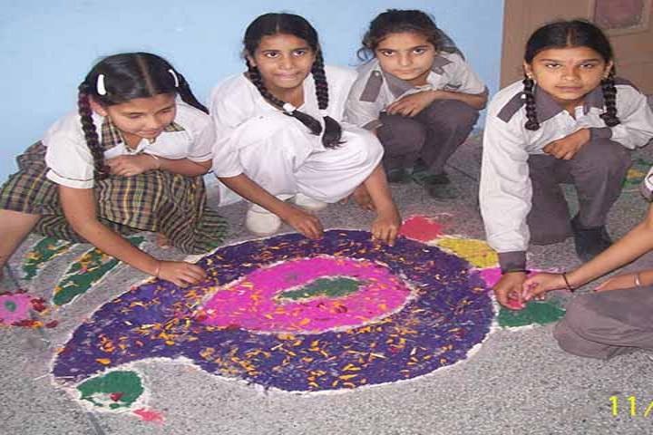 Saraswati Vidya Mandir High School-Rangoli
