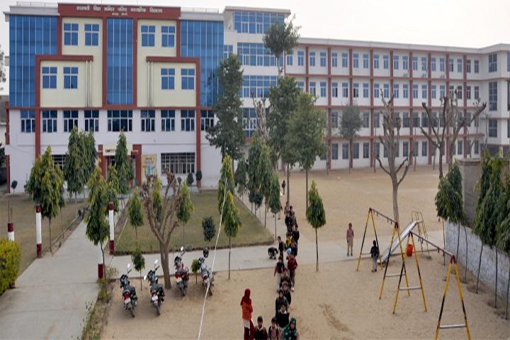 Saraswati Vidya Mandir Senior Secondary School-School Building
