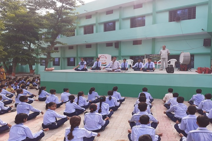 Saraswati Vidya Niketan Senior Secondary School-Yoga Activity