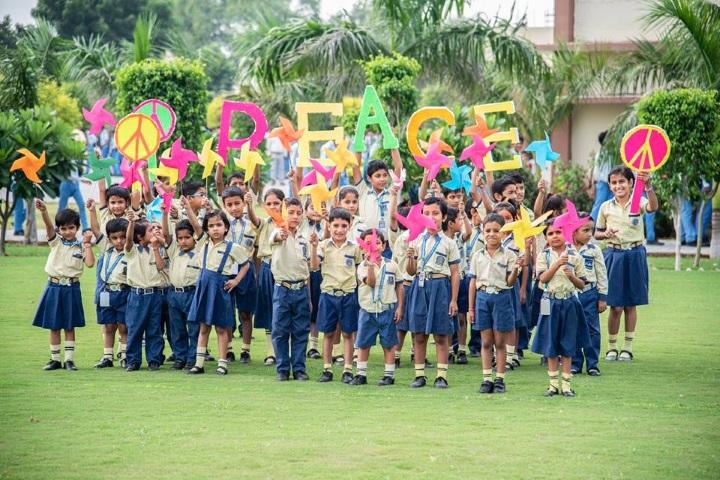 Saraswati Vidya Vihar Senior Secondary School-International Peace Day