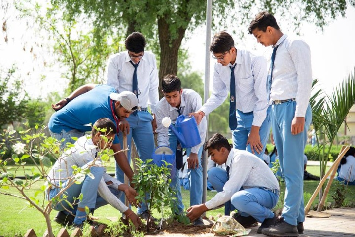 Saraswati Vidya Vihar Senior Secondary School-Tree Plantation Day