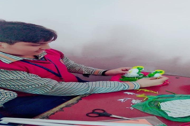 Sarv Vidya Public School-Art And Craft