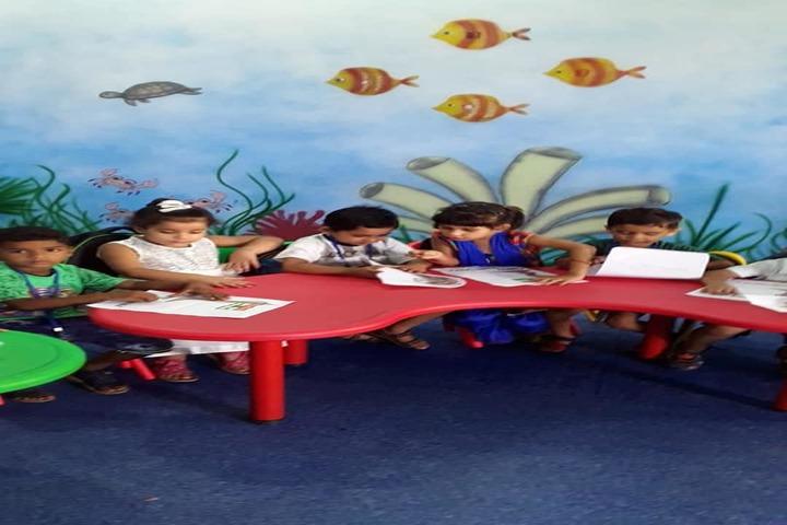 Sarv Vidya Public School-Classroom Activity