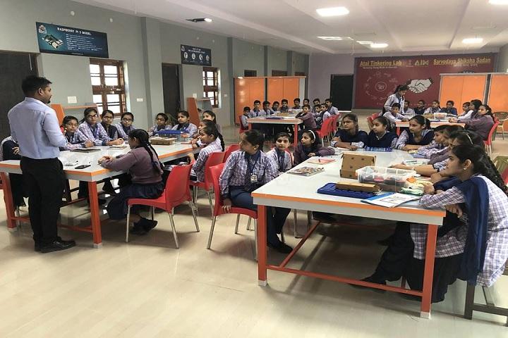 Sarvodaya Shiksha Sadan-Activity Room