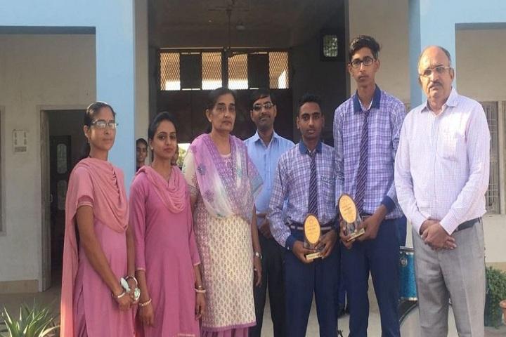 Sarvodaya Shiksha Sadan-Award Receiving