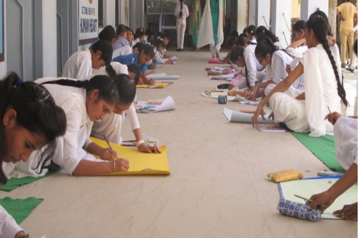 Sarvodaya Shiksha Sadan-Drawing Competition
