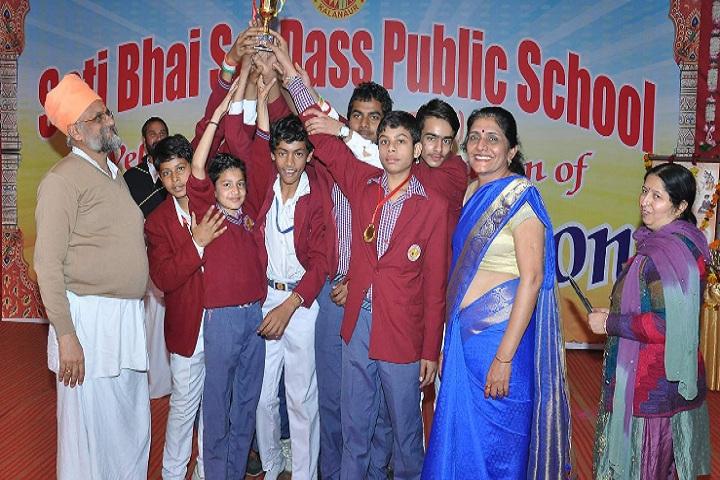 Sati Bhai Sai Dass Public School-Award Presentation