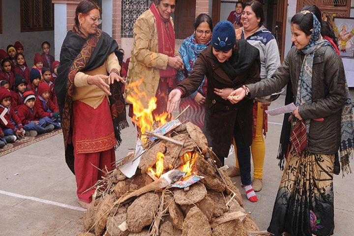 Sati Bhai Sai Dass Public School-Lohri Festival Celebration
