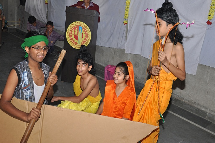 Sati Bhai Sai Dass Public School-Ramayana Event
