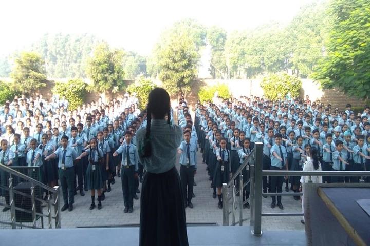 Satluj Public School-Assembly