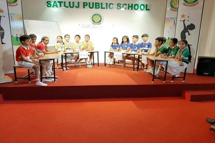 Satluj Public School-Quiz Competition