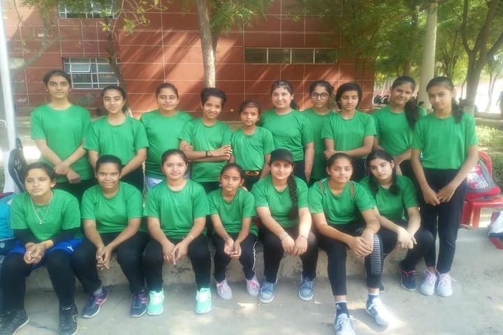 Satluj Public School-Sports Team