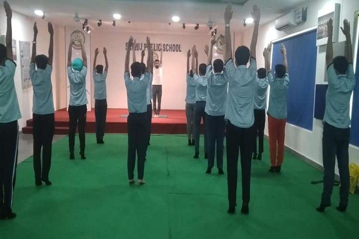 Satluj Public School-Yoga