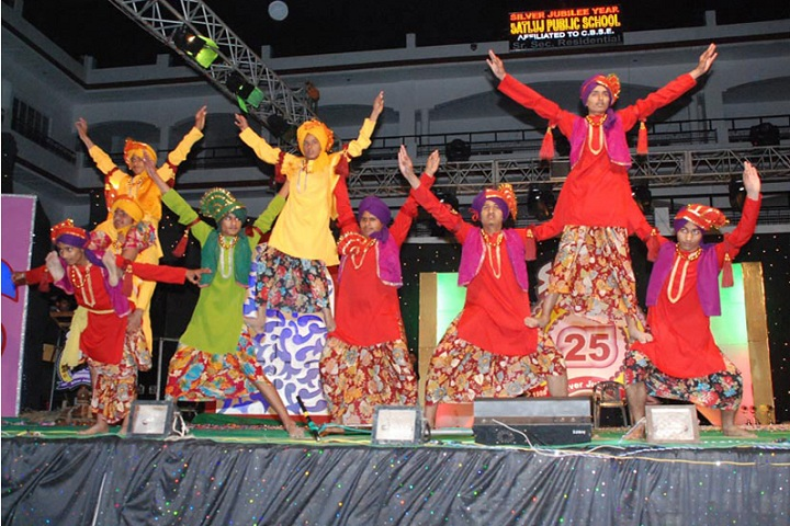 Satluj Public School-Cultural Program